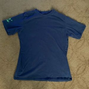 FREE with $5 purchase 725 Blue Tee skull sleeve L